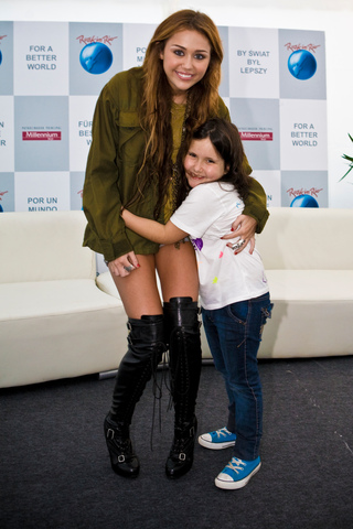 Miley cyrus meet greet pics memi support m4hsunfo