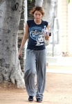 EXCLUSIVE Miley Cyrus looking beautiful after a workout
