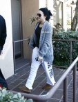Demi Lovato arrives to A New Journey Eating Disorder Center