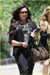 *EXCLUSIVE* Demi Lovato steps out for Lunch