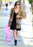 EXCLUSIVE: Demi Lovato Out Shopping In Sherman Oaks