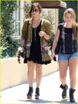 EXCLUSIVE: Demi Lovato Out For Lunch In Sherman Oaks