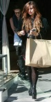 Demi Lovato Shopping for Shoes.